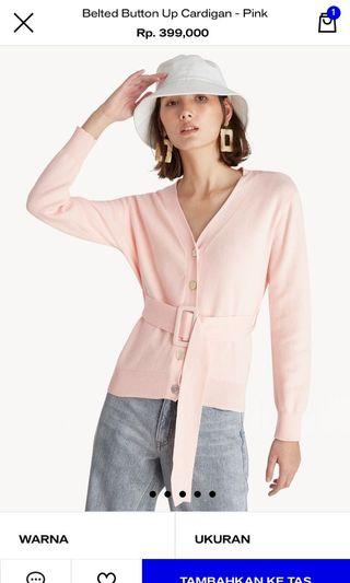 Cardigan Pink Pomelo New
