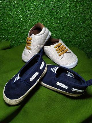 Sepatu anak mothercare size 1 dapat 2pasang 179rb