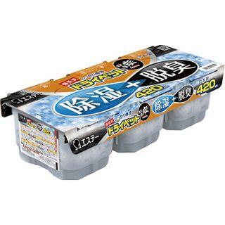 日本 雞仔牌 備長炭除濕脫臭盒420mlx3入