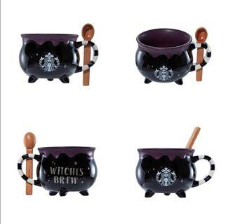 🆕 Starbucks Limited Edition Halloween Witch Brew Mug