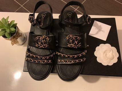 ❤️Chanel 香奈兒涼鞋
