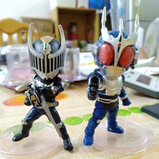 WCF Kamen Rider Knight & G3 Bootleg