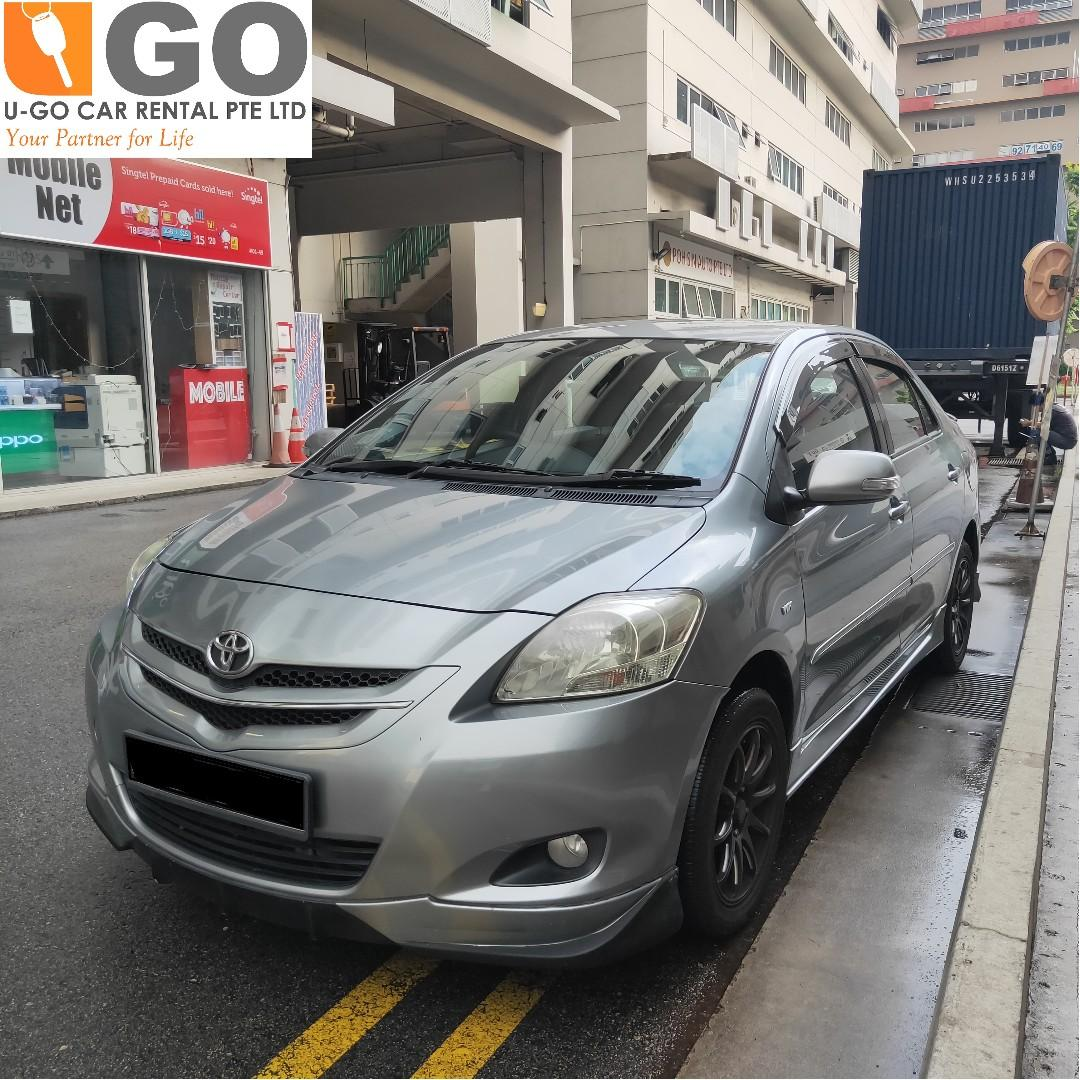 [PROMOTION]Car Rental Toyota Vios  FOR RENT/ GRAB / GOJEK/ TADA / PERSONAL USEAGE