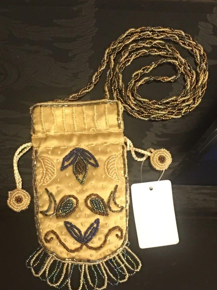 串珠手機袋