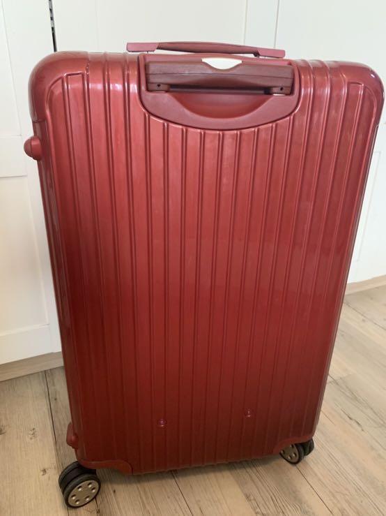 二手 RIMOWA 系列 SALSA DELUX 29吋 紅色 行李箱