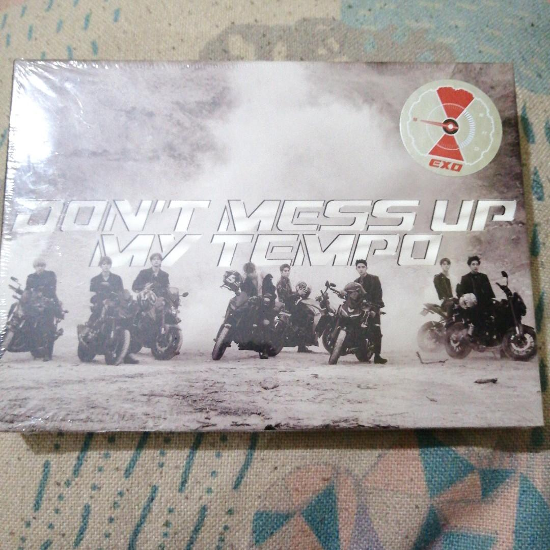 ( SEALED) EXO DON'T MESS UP MY TEMPO ANDANTE VERSION