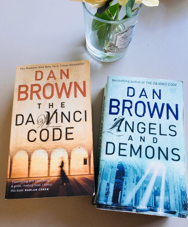 Angels and Demons / The Da Vinci Code by Dan Brown