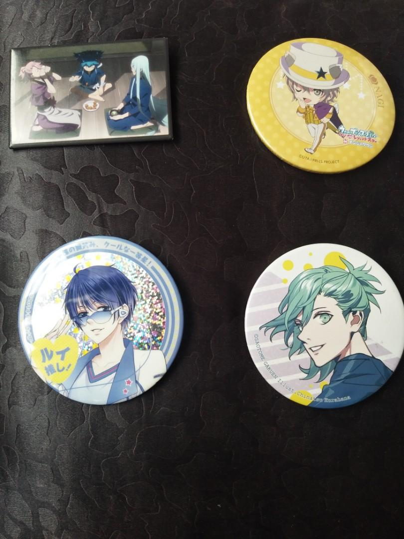 Anime Badges