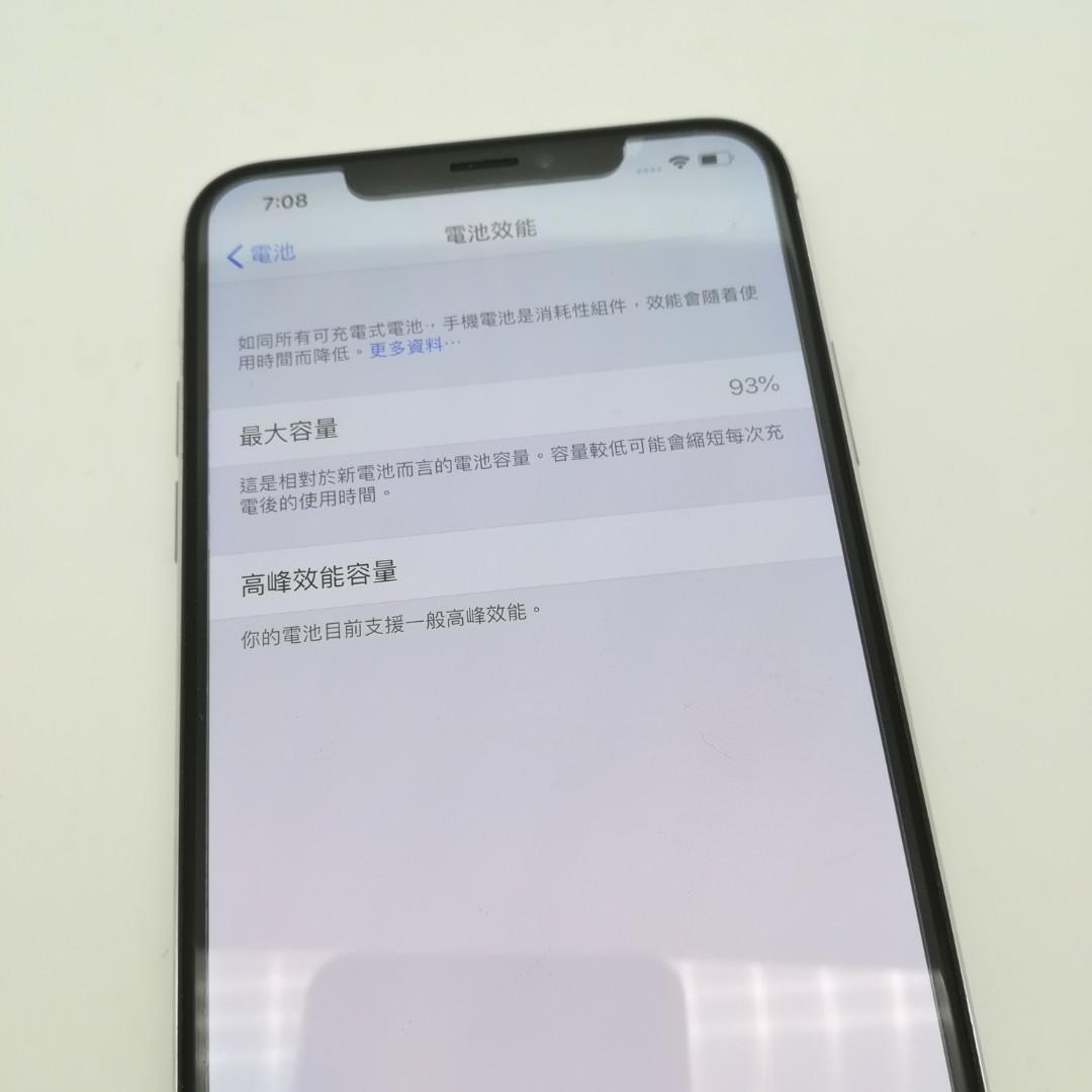 特價Apple iPhone Xs Max 256gb Silver WL016