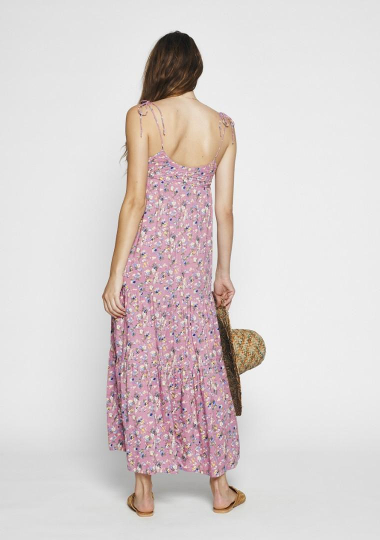 Auguste Viola Vacation Maxi Dress in Mauve - Size 6 RRP $185