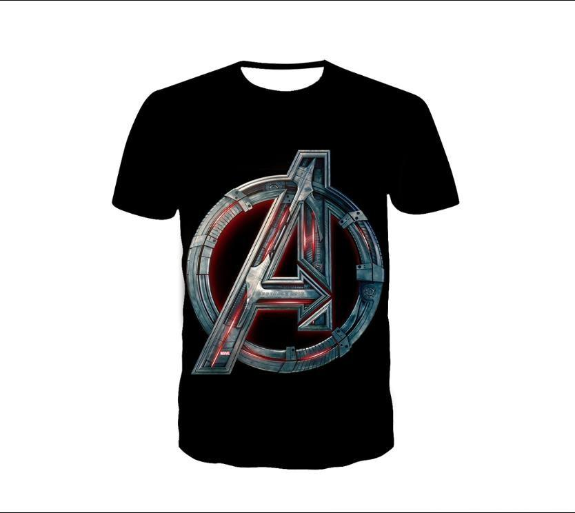 Avengers 3d graphic tee milk silk cotton unisex