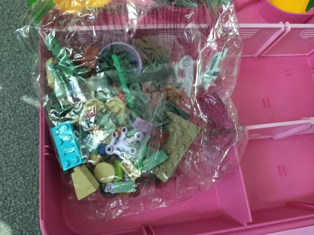 Bag lego box