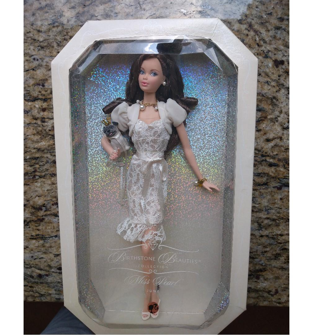 barbie - Birthstone Beauties Collection (Miss Pearl)