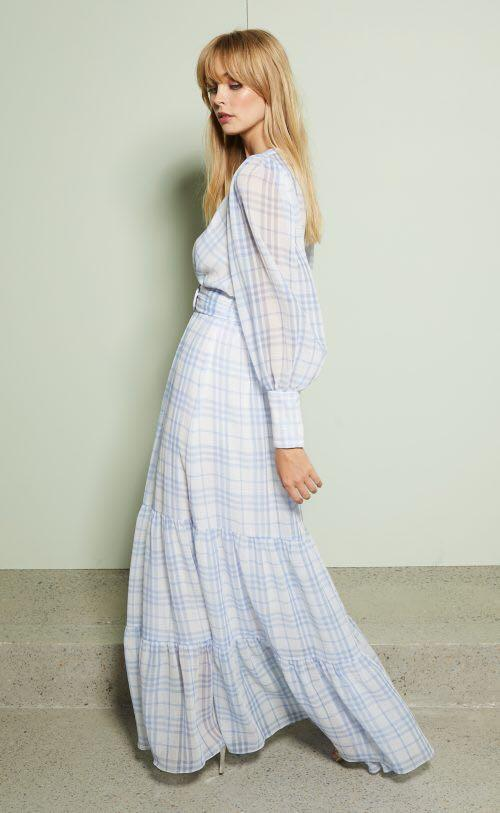 BEC & BRIDGE Alexa Long Sleeve Midi Dress ( NEW WITH TAGS)
