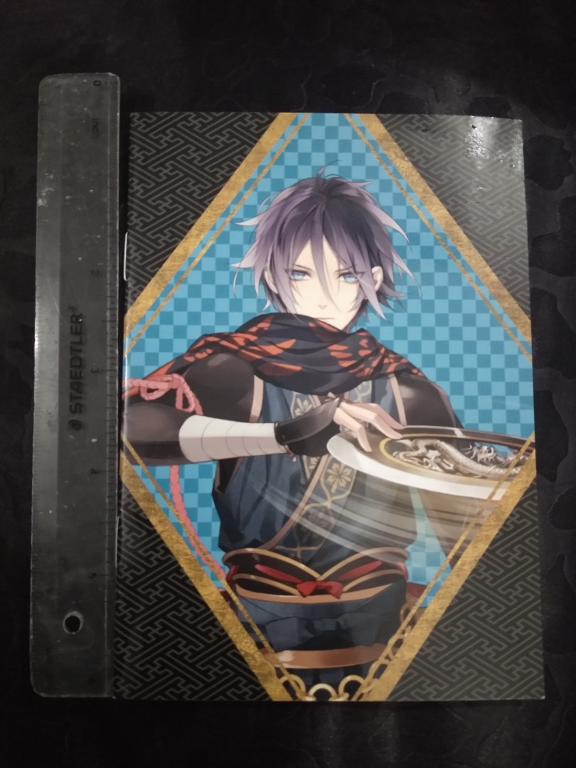 Anime small notebook