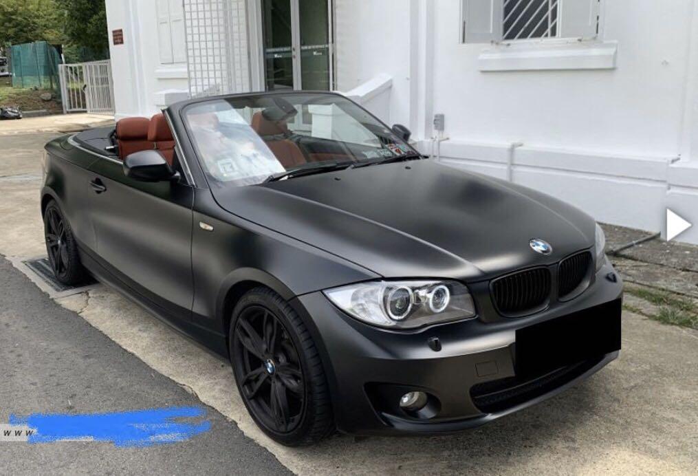 BMW 120i Cabriolet for Rent
