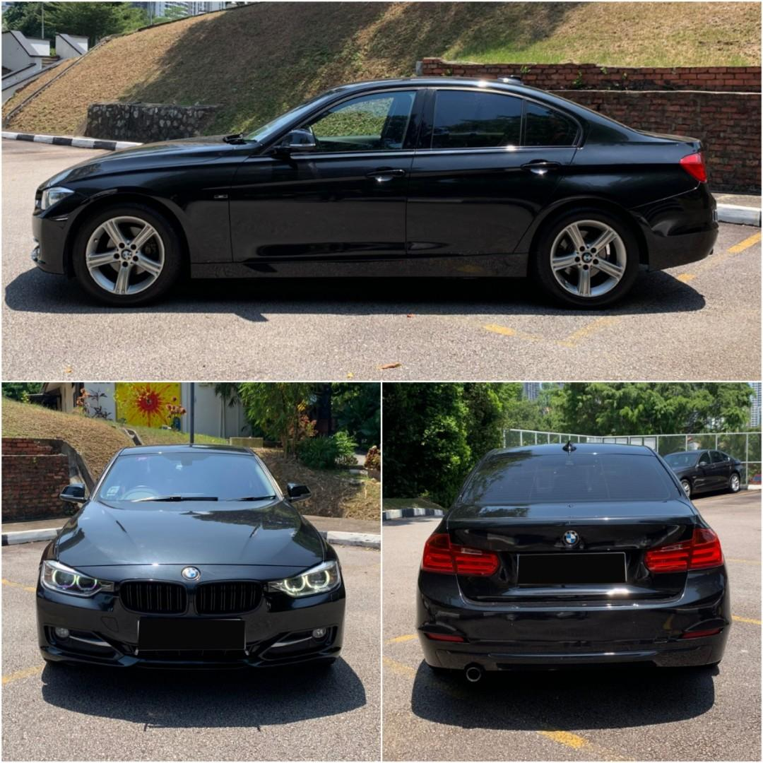BMW 316i F30 (Rent/Lease) (PHV welcome!)