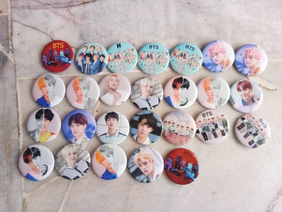 BTS Button Badges