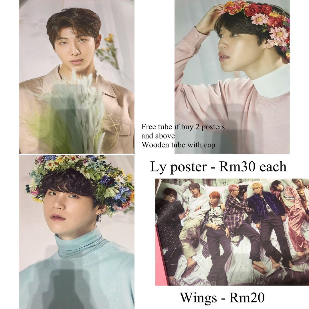 BTS Ly poster Wings poster