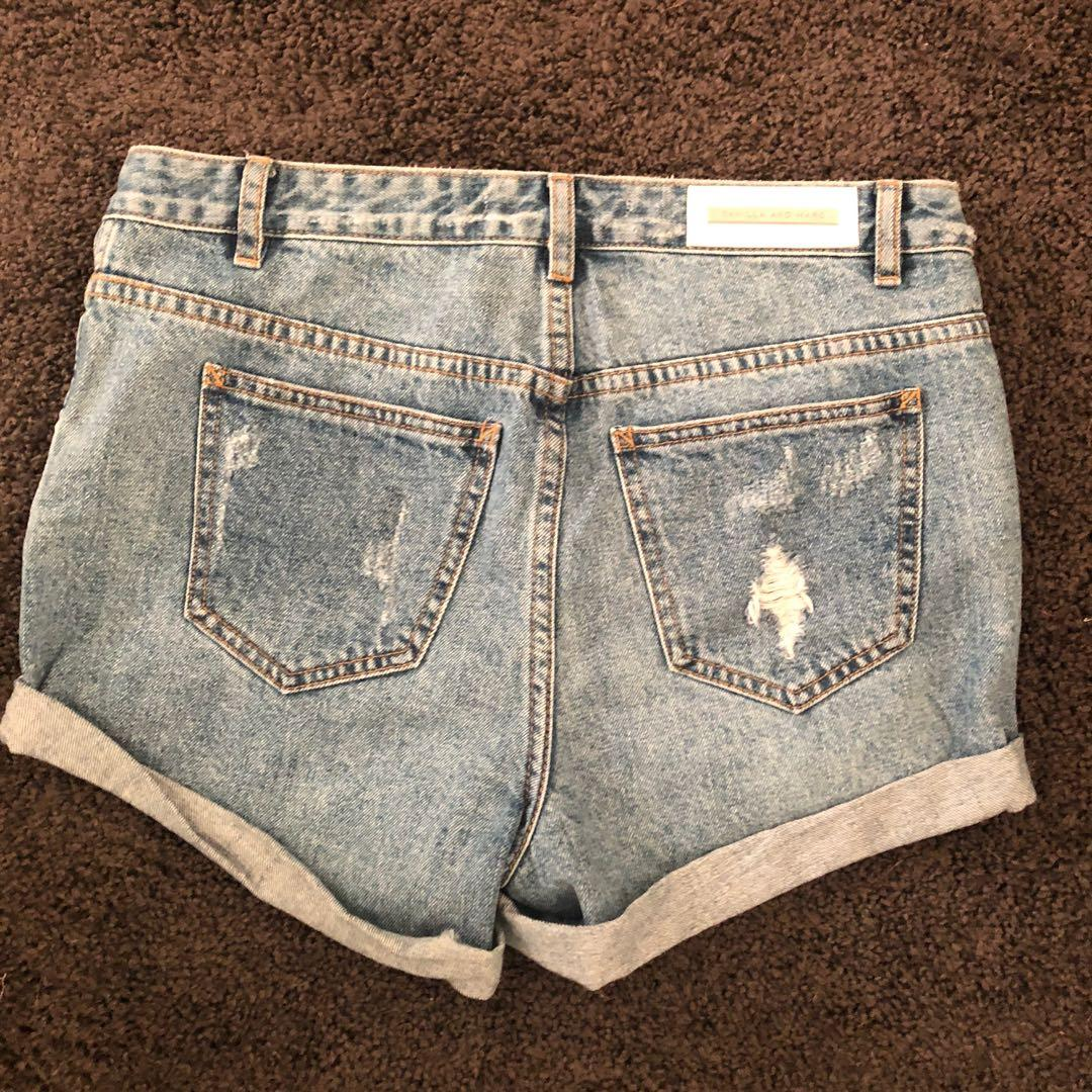 Camilla and Marc CM Delphine Denim Shorts Size 6/8