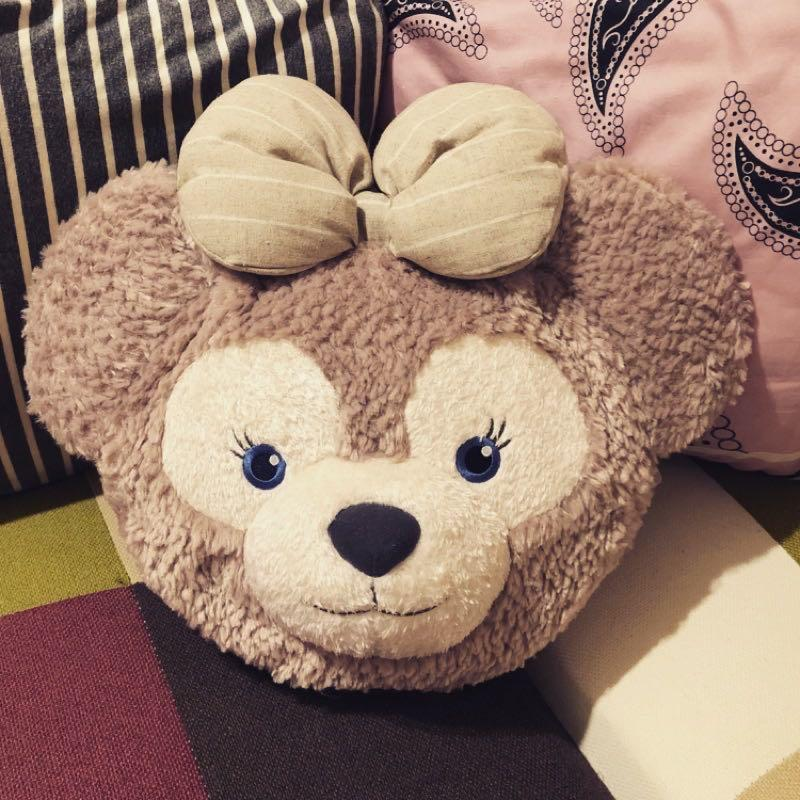 Disney迪士尼-雪莉玫大頭三用包