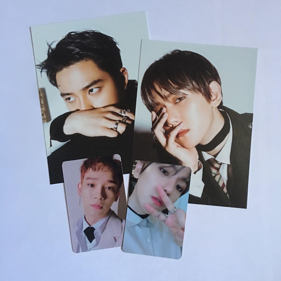 EXO Photocard / Postcard