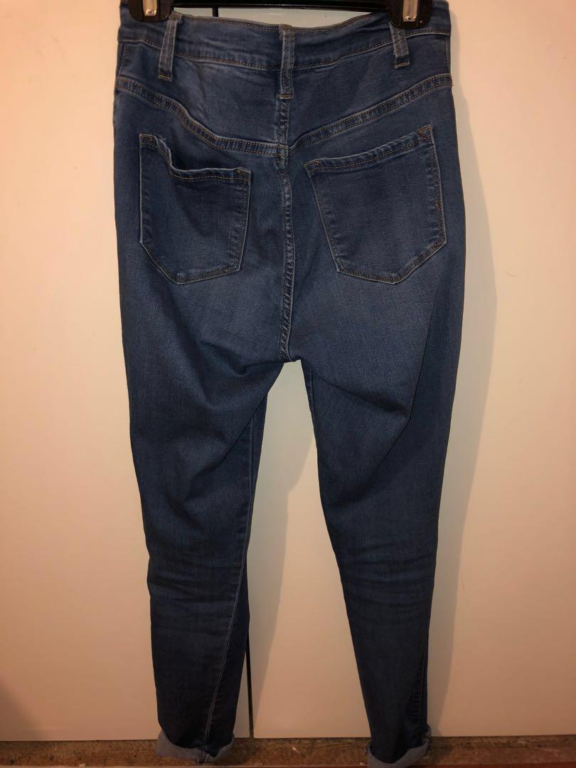 Fashion nova classic high waisted skinny jeans - medium wash