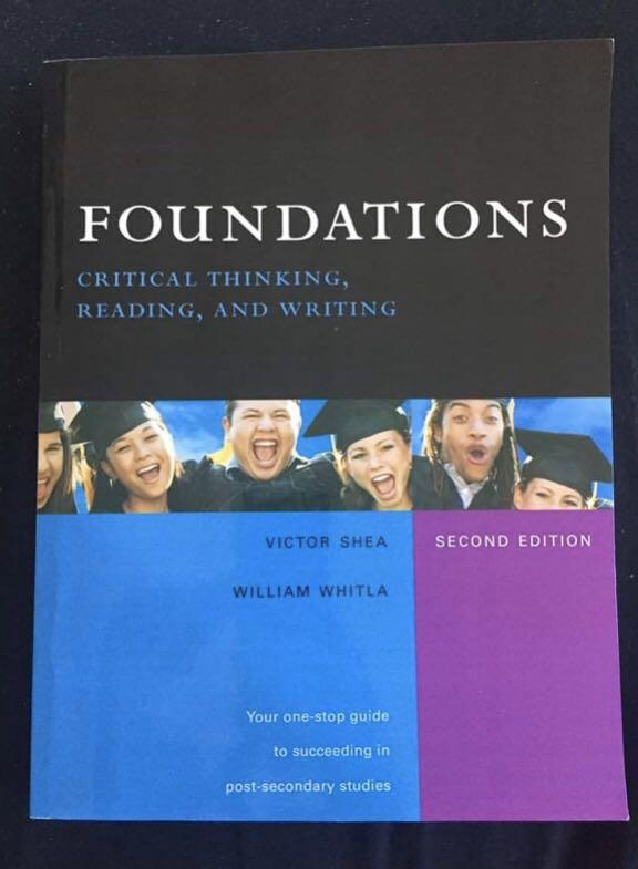 Foundations critical thinking reading and writing second edition