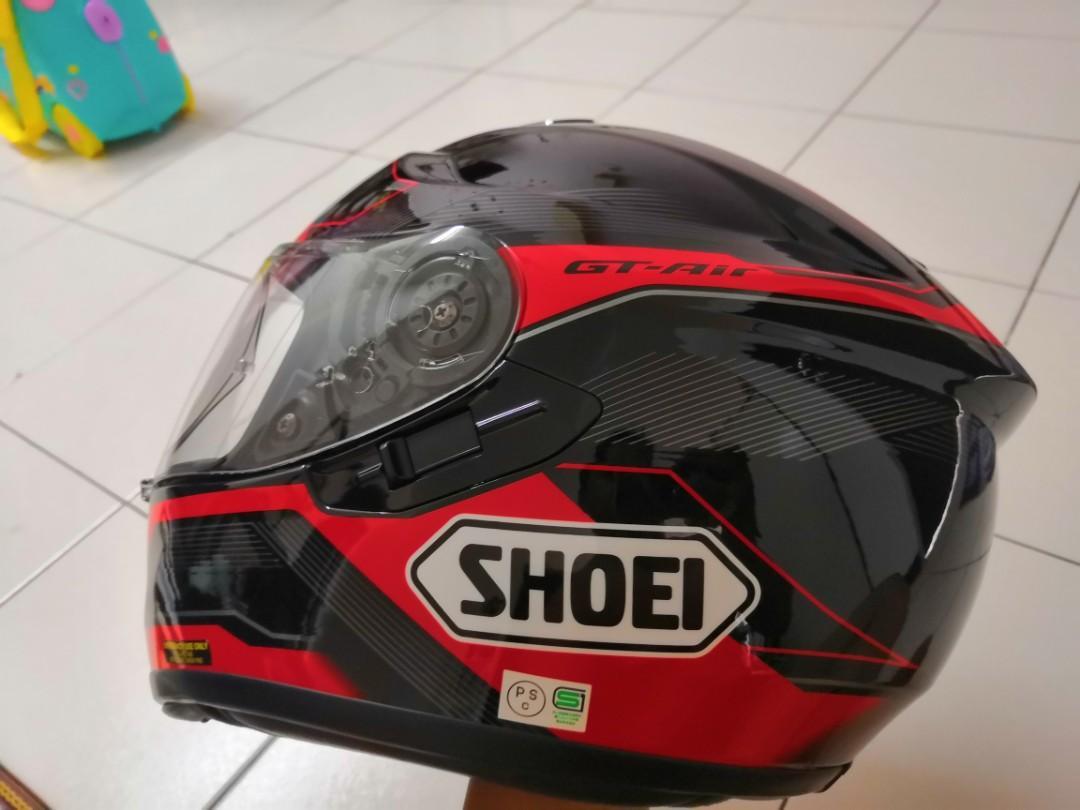 Helmet Shoei gt air saiz M