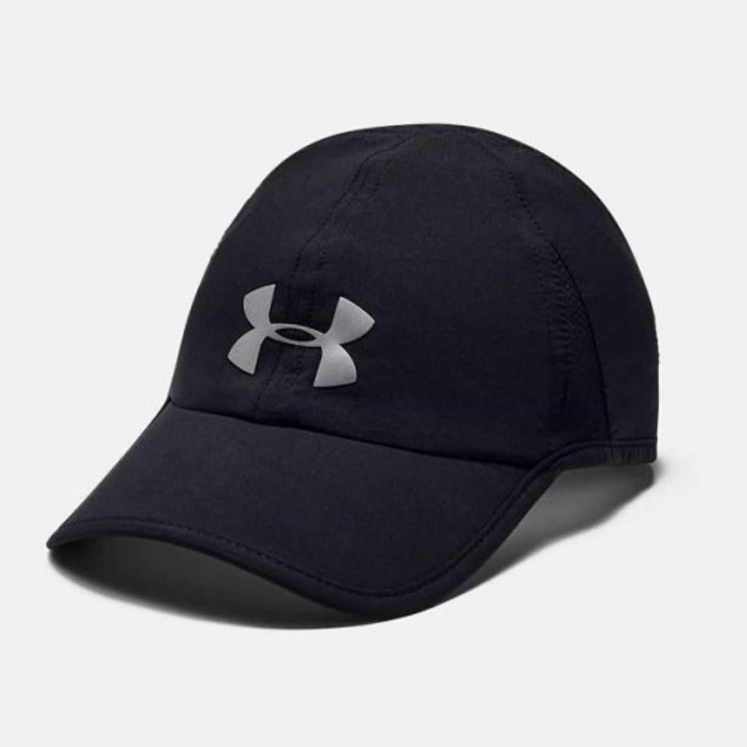 In Stock 100% Authentic & Brand New UA Shadow 4.0 Run Cap Men's Running Headwear-Direct Imported From The U.S.A