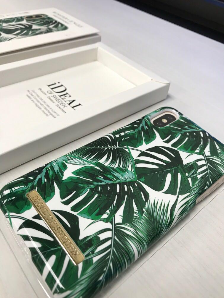 Iphone X OR XS Cover - iDEAL Cover with boxes complete