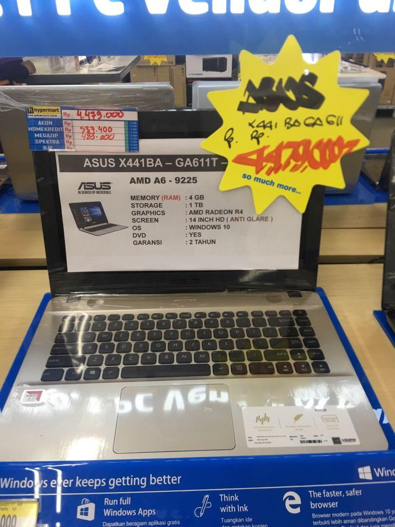 KrediT LAPTOP ASUS X441BA Bisa Kredit