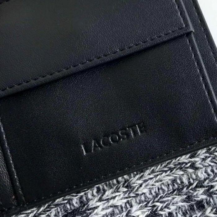 LACOSTE wallet & card holder set (Authentic)