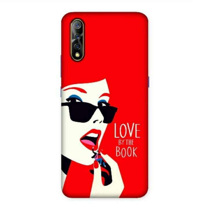 Love In The Book Vivo S1 Custom Hard Case