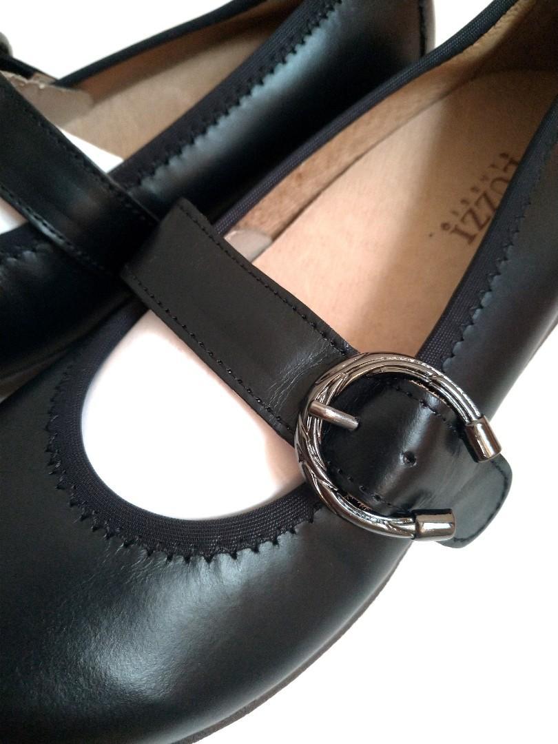 LUZZI真皮休閒女鞋23.5