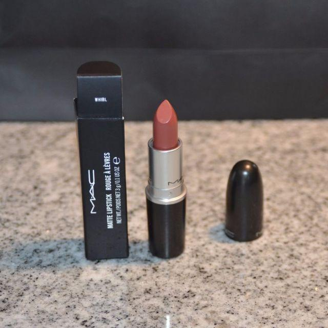 MAC LIPSTICK WHIRL, BRAND NEW & AUTHENTIC OTHER SHADES AVAILABLE (NO SWAPS, PRICE IS FIRM)