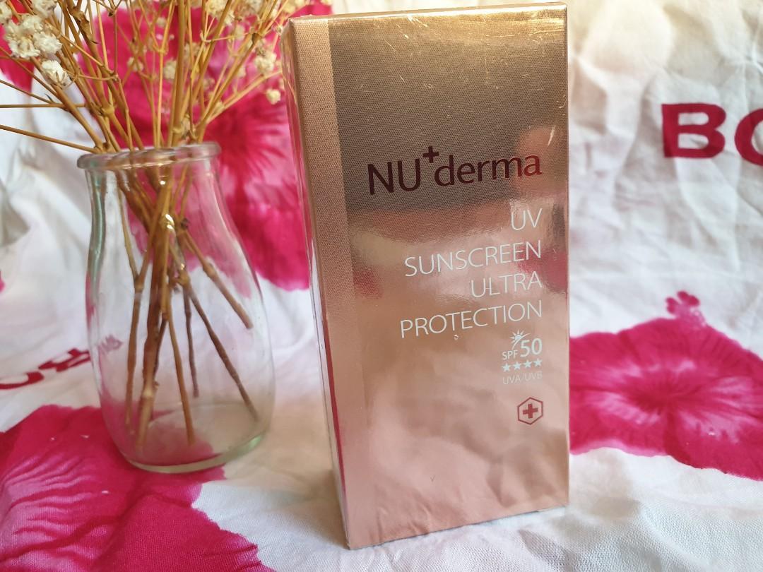 NU+derma新德曼 紅石榴防曬隔離乳 SPE50++