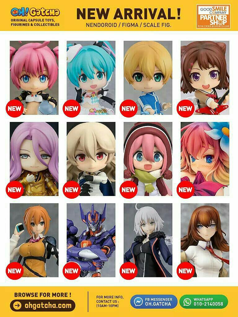 [INFO] October 2019 New Arrival Nendoroid, Figma, Scale Figures @ Oh! Gatcha