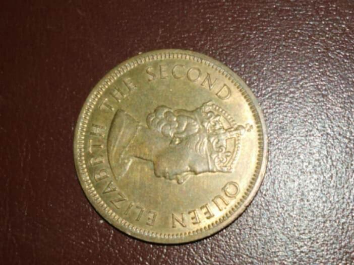 Old coins (1967 Hong Kong)