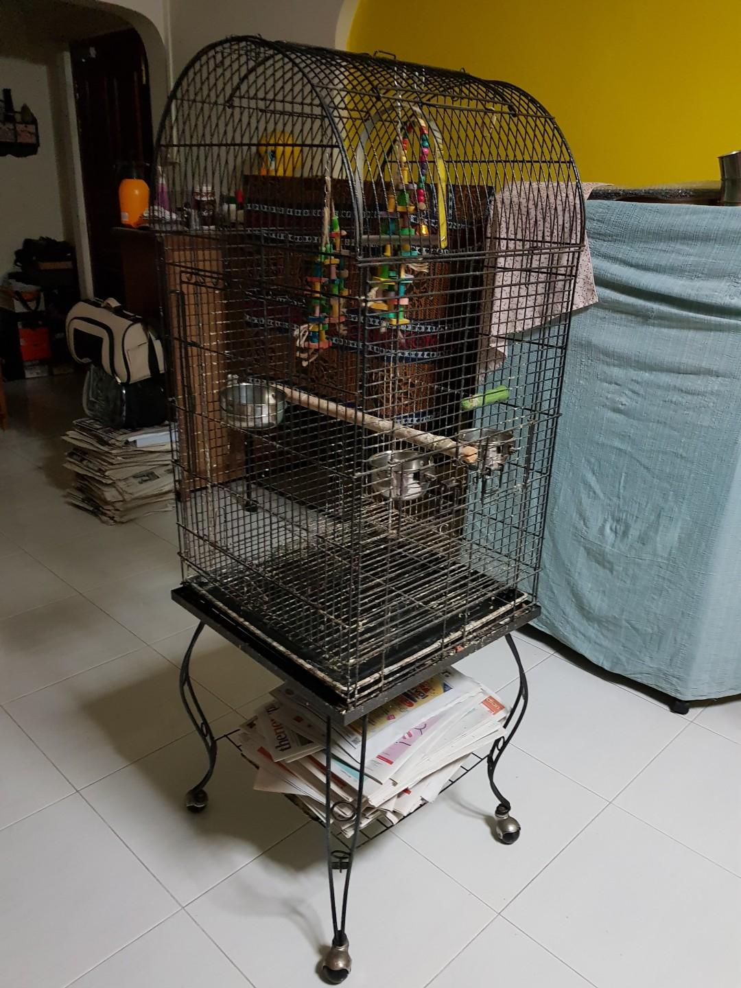 Pre-loved Bird Cage for small to medium bird