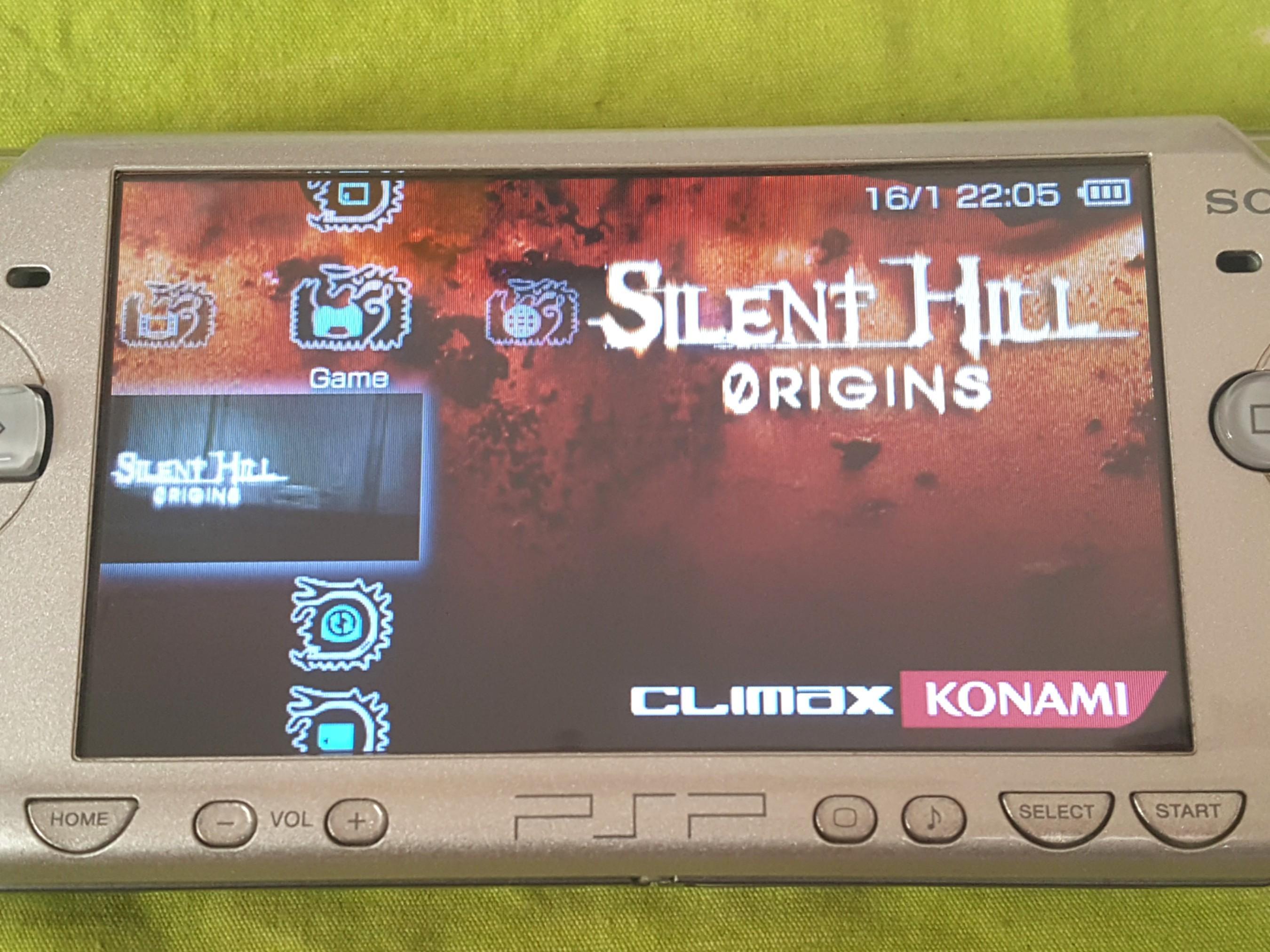 Psp Game, Silent Hill Origins, English Ver. 100% Work.