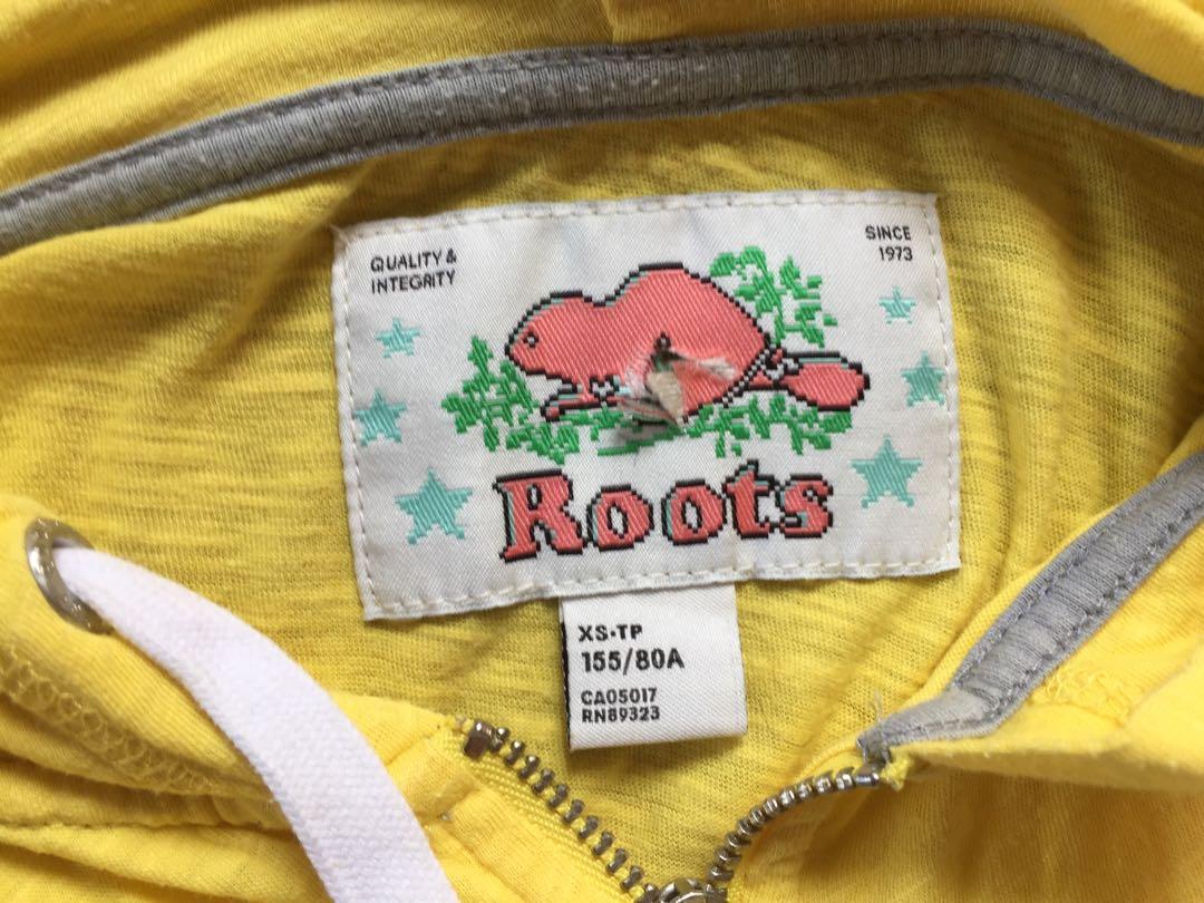 二手roots女版薄外套,有穿過痕跡,手袖長度不一致#五折清衣櫃