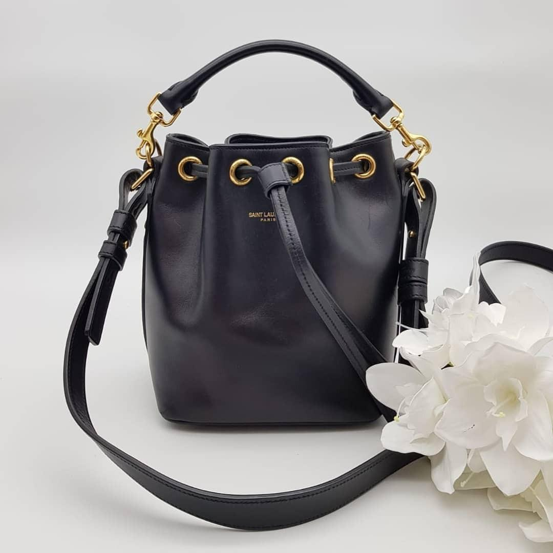 Saint Laurent Emmanuelle Bucket Bag Small