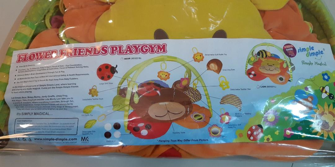 Simple Dimple Flower Friends Playgym