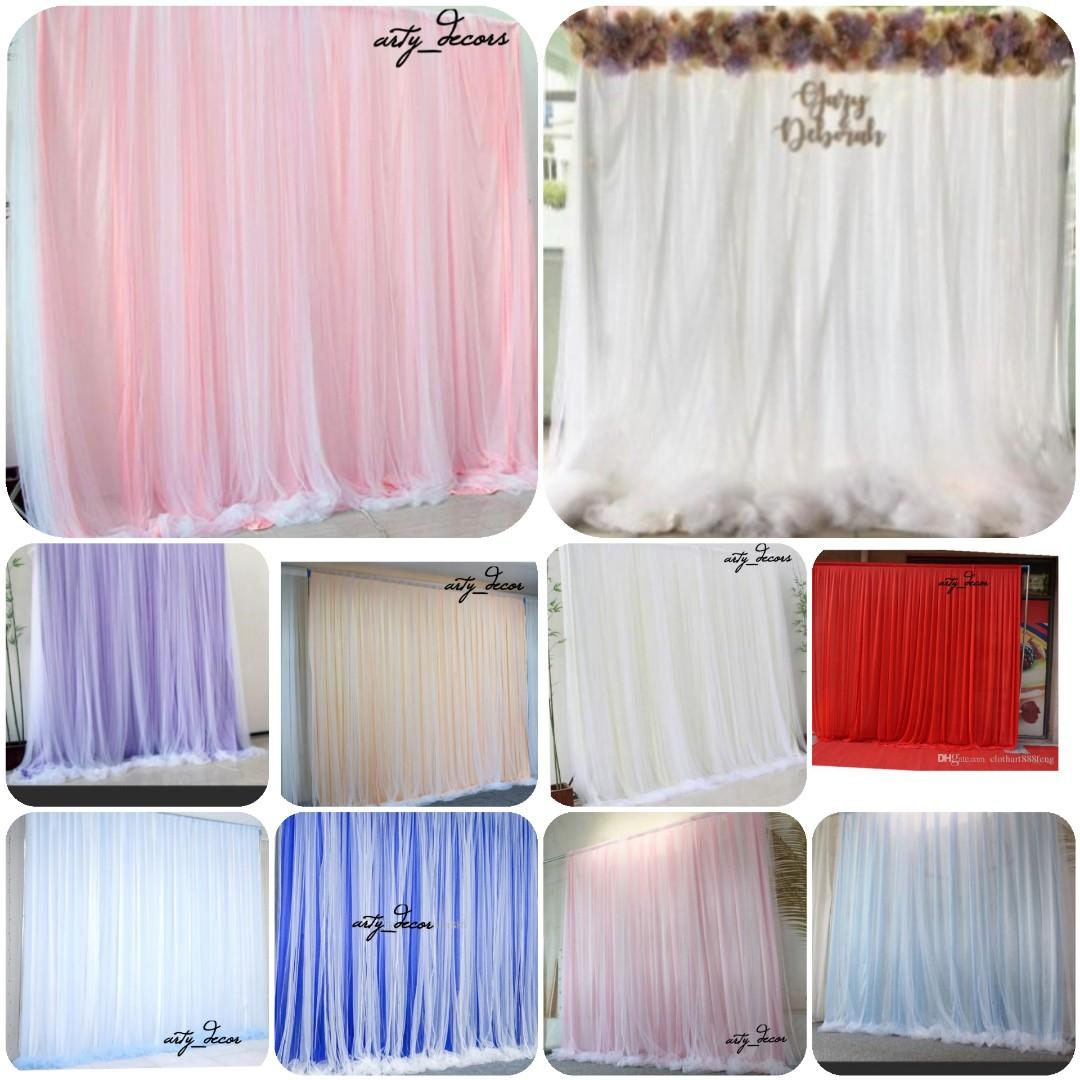 SPECIAL PRICE!!! Wedding/Solemnization/Rom/Engagement  backdrop arches and stands