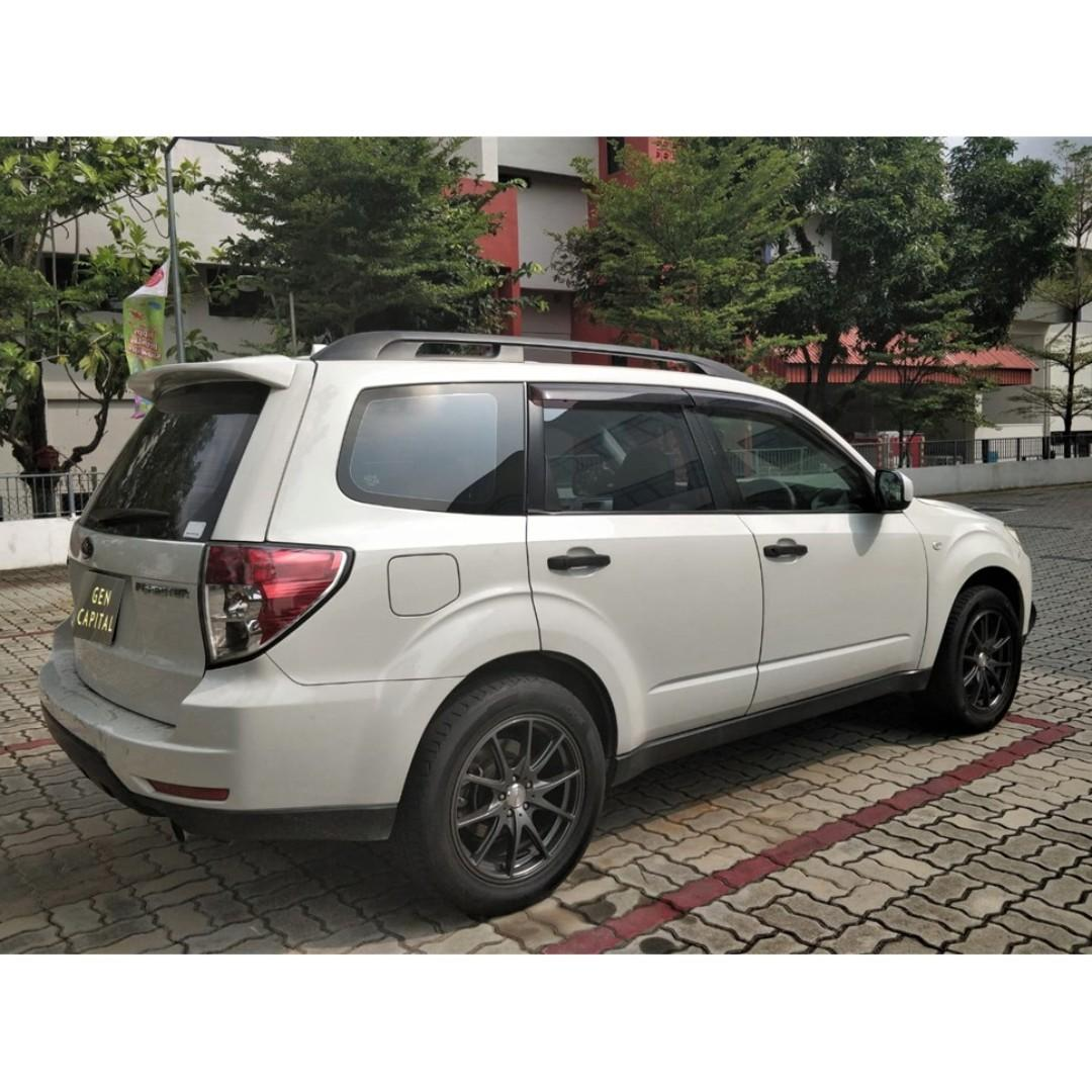 Subaru Forester 2.0A @ Best price! Free servicing!