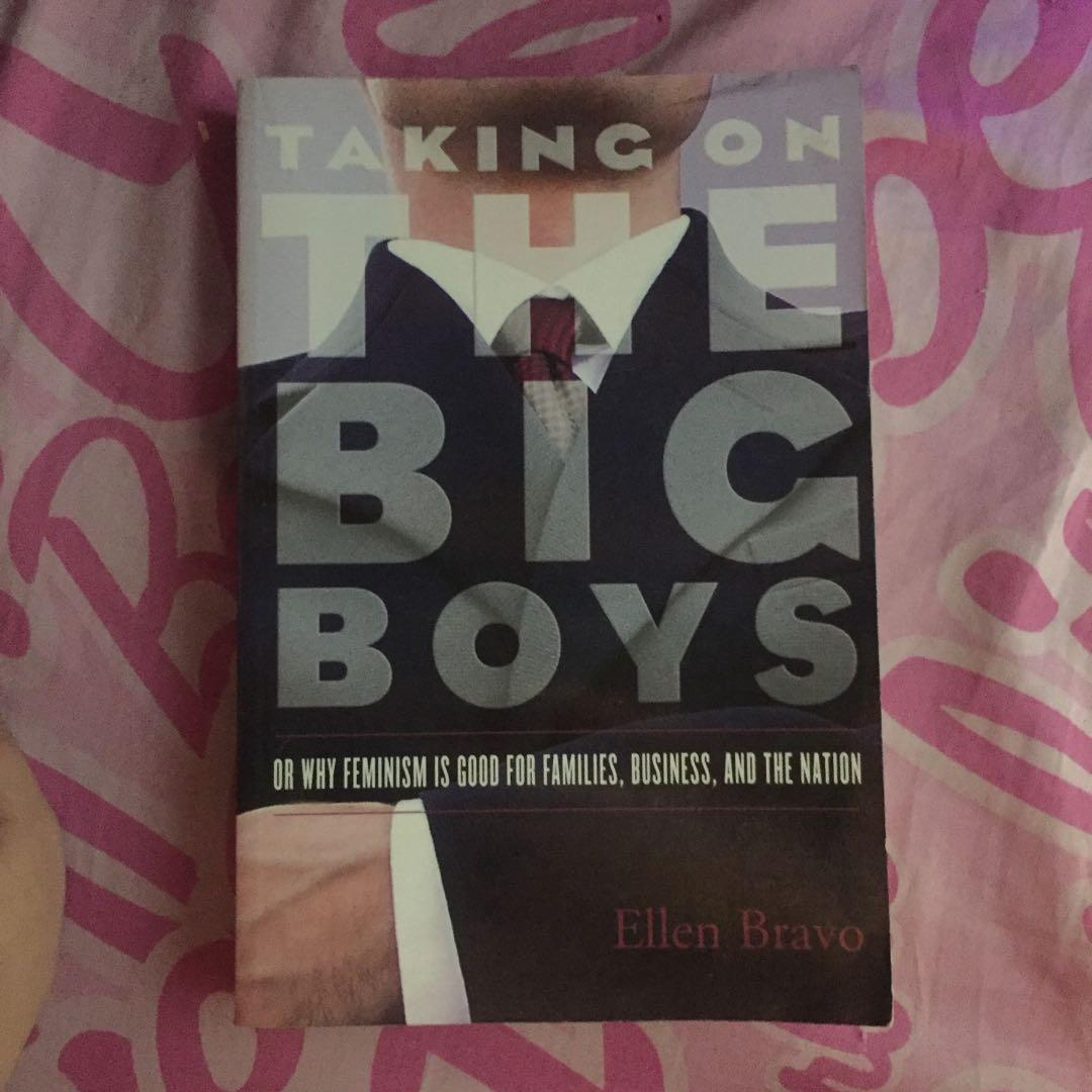 Taking on the Big Boys (or why feminism is good for families, business, and the nation)