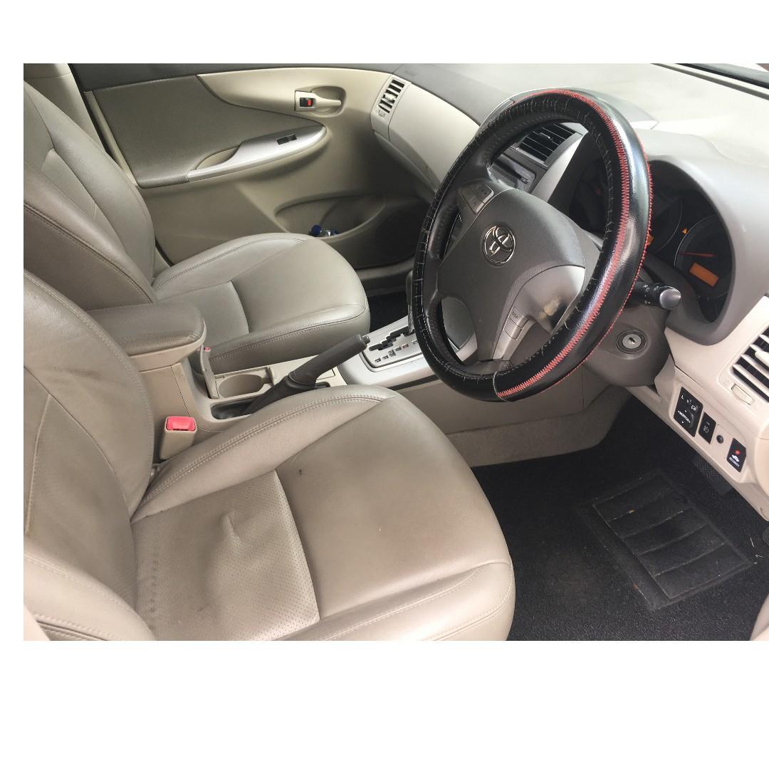 Toyota Altis Rent| Weekly rental rebate available |Gojek|GRAB|TADA|RYDE