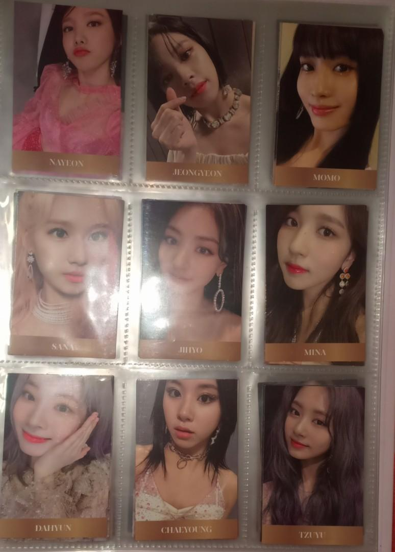 Twice Feel Special Photocard full set