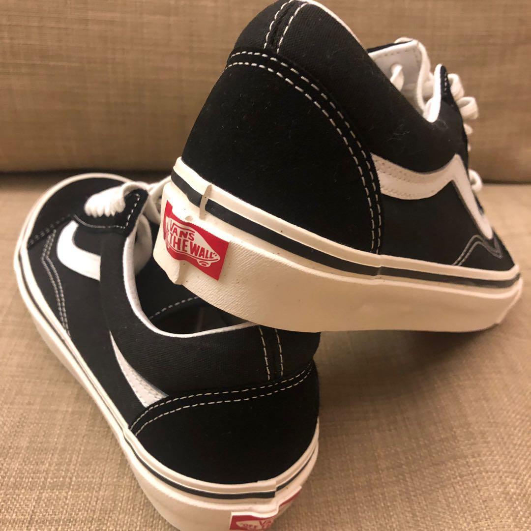 全新 Vans 滑板鞋 經典黑 26cm